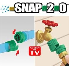 Snap 20 Garden Hose Connector As Seen on TV Web Store
