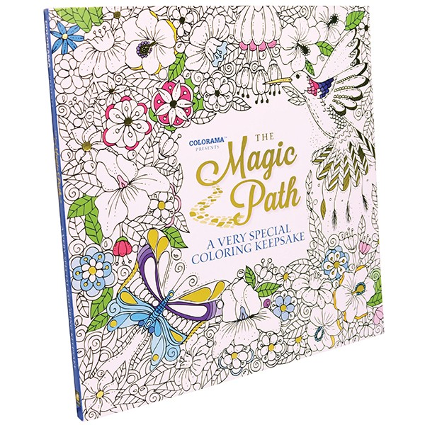 Colorama Coloring Books On Magic Path As Seen Tv
