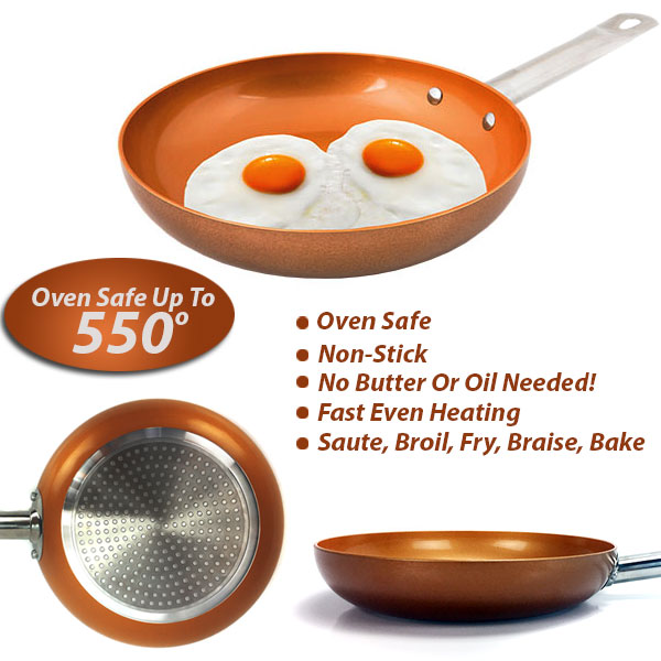 Copper Pan Chef 2 Piece Set As Seen On Tv