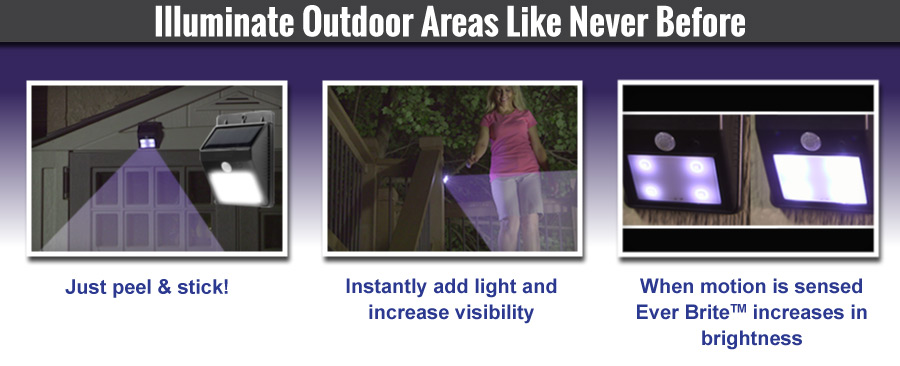 Ever Brite solar led outdoor lights as seen on tv