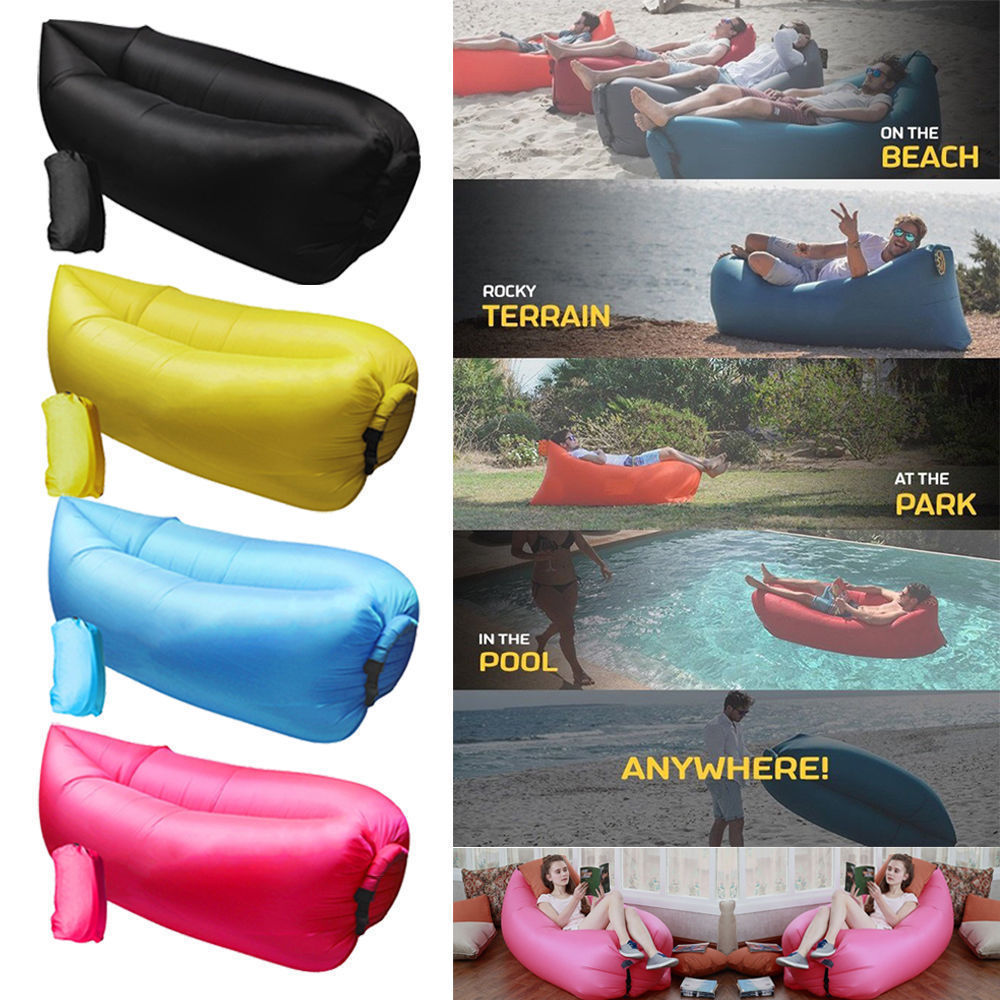 inflatable couch air sofa pouch couch