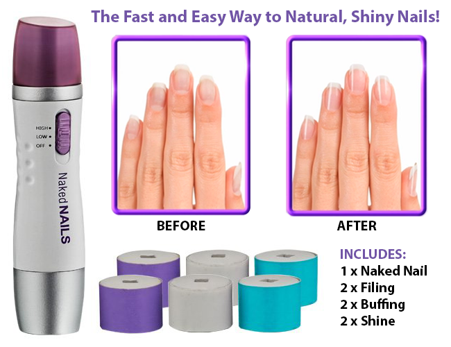 naked nails electronic manicure system
