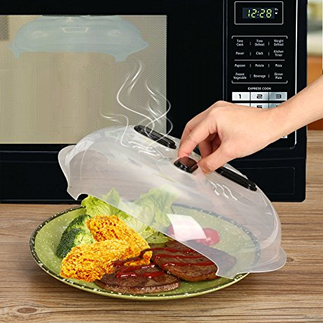 splatter guard hover microwave cover