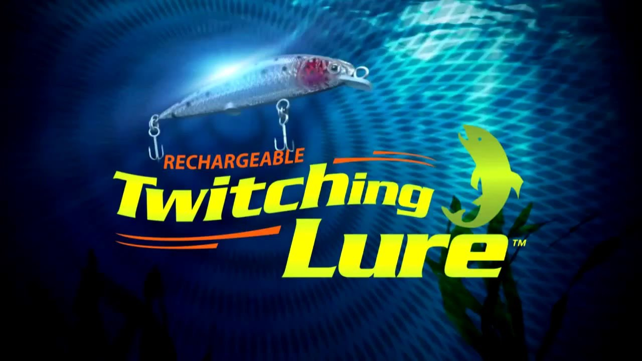 Twitching lure as seen on tv for Fishing lure as seen on tv
