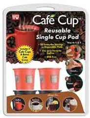 Cafe Cup For Keurig Coffee Makers As Seen On Tv