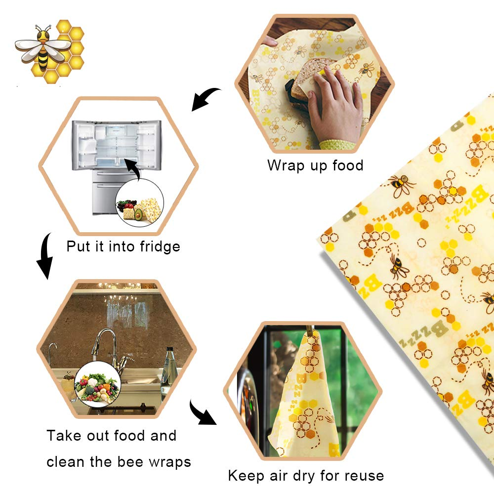 beeswax food wrap how to use