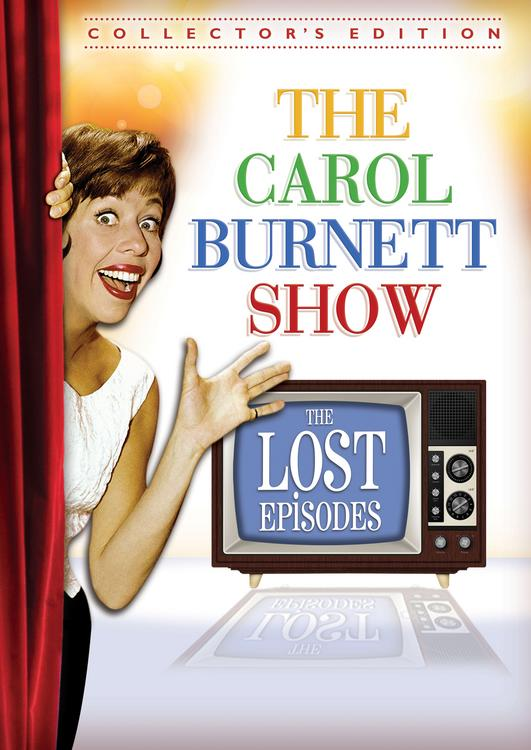 Carol Burnett show dvd lost episodes