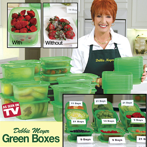 Debbie Meyeru0027s Green Boxes Features and Benefits  sc 1 st  As Seen on TV Web Store & Debbie Meyeru0027s Green Boxes - As Seen on TV