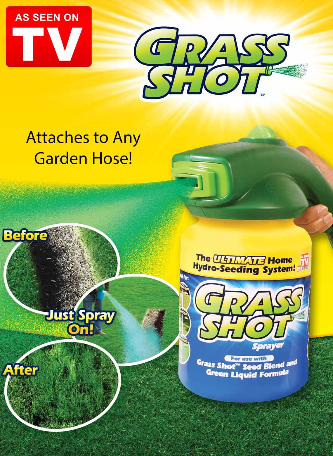 Grass Shot Spray Grass Seed