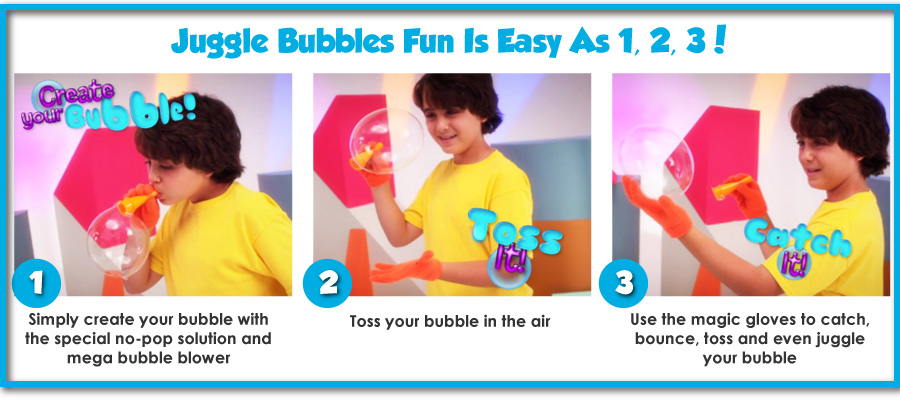 Juggle Bubbles Play and Juggle Bubbles