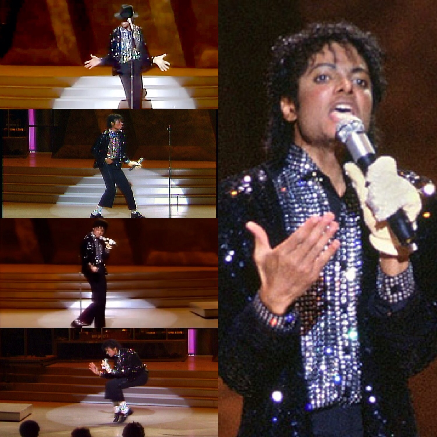 Michael Jackson Billie Jean moonwalk Motown 25