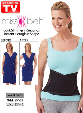e6b88123c43 Wear The Miss Belt over your clothes or discreetly underneath. Get an  Hourglass shape instantly!