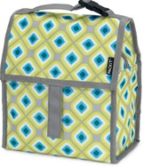 packit freezable lunch bag geometric