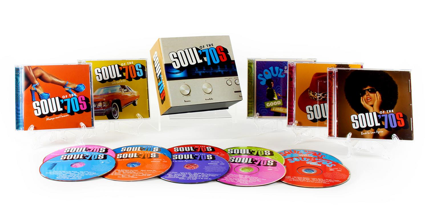 soul of the 70s time life music cd set