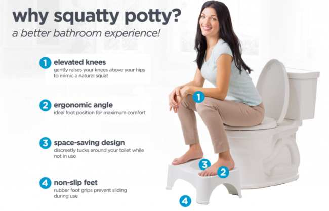 squatty potty as seen on tv