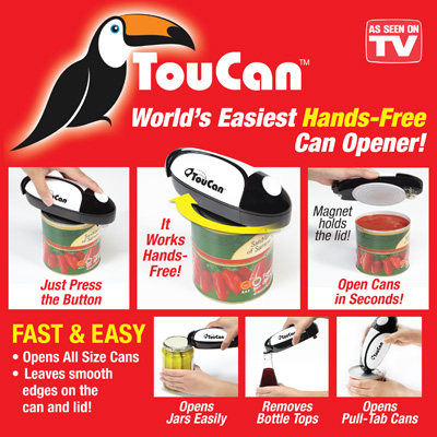 toucan can opener as seen on tv