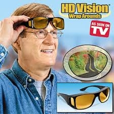 Hd Vision Wrap Around Sunglasses As Seen On Tv